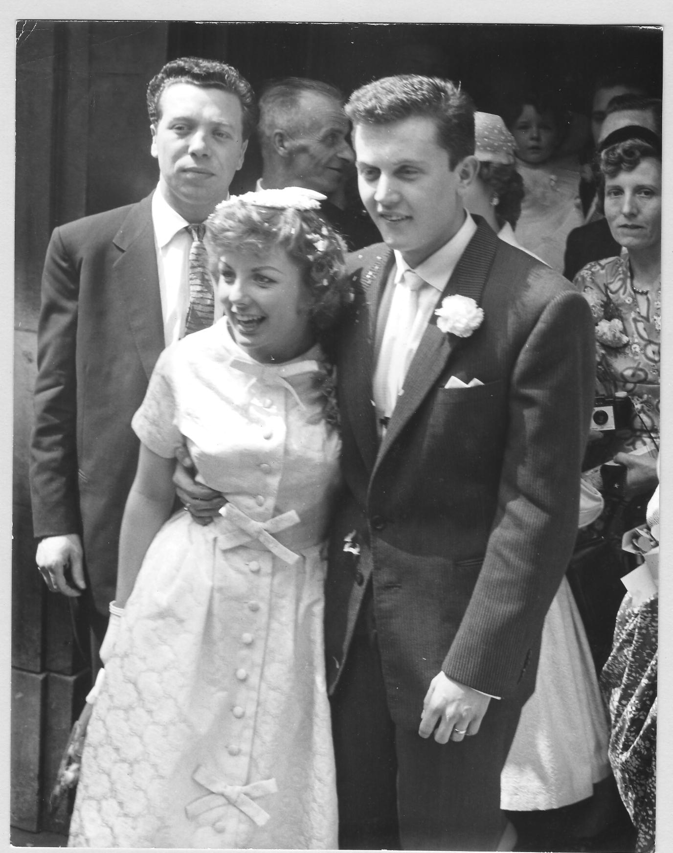 The ill fated wedding to Terry Dene